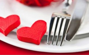 repas st valentin