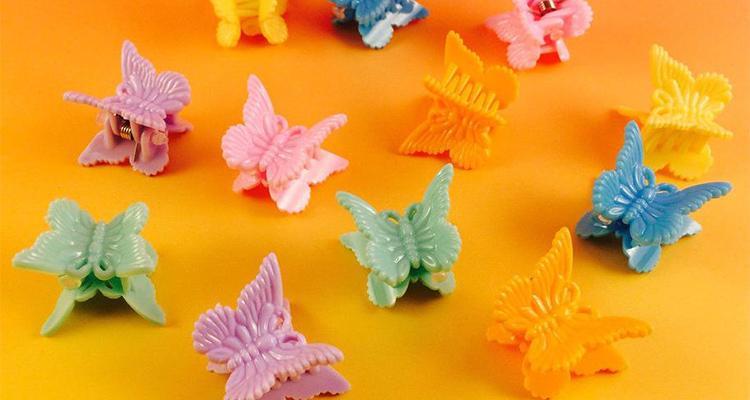 barrettes papillons