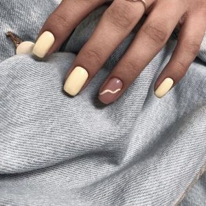 ongles pastelles
