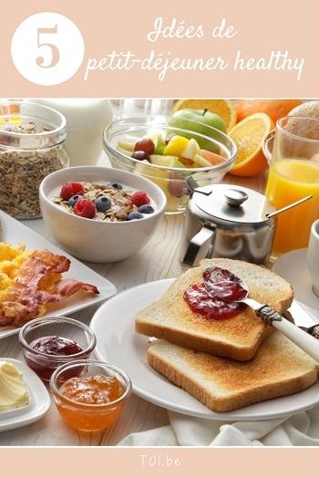Idées petit déjeuner