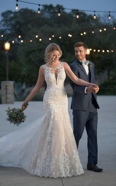 robe mariage sirène