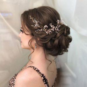coiffure mariage - chignon