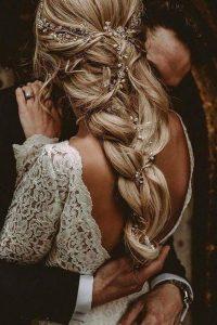 coiffure mariage - tresse