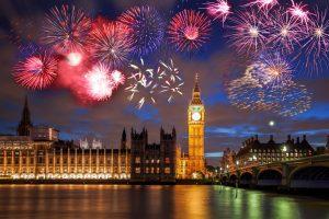 Londres nouvel an