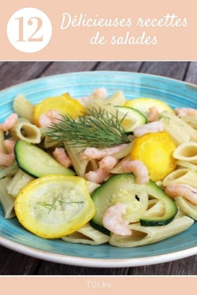 12 délicieuses recettes de salades
