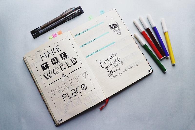 Inspiration bullet journal