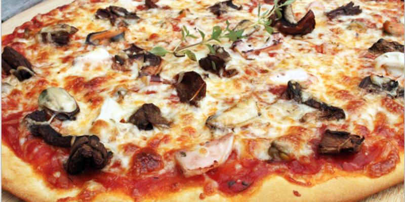 pizza fruits de mer