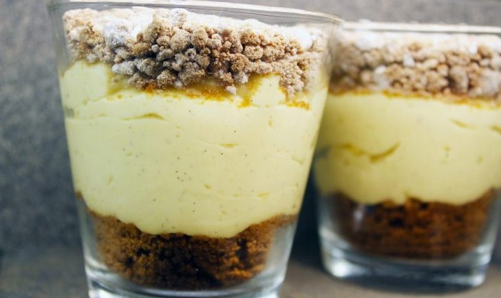 Pudding vanille speculoos